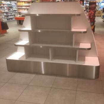 Rvs randen demo meubel