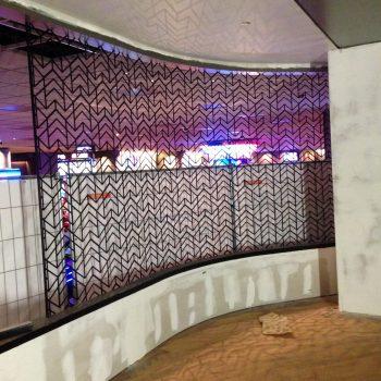 Scheidingswand casino Rotterdam