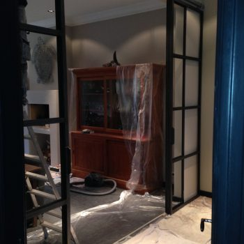Stalen deuren kamer ensuite