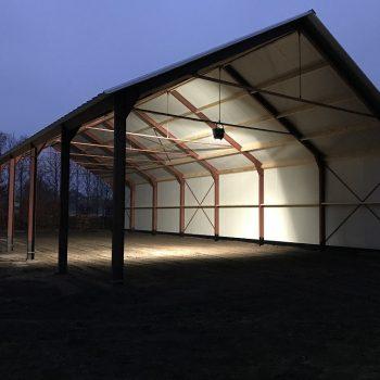 Staalconstructie wand- en dakpanelen 2